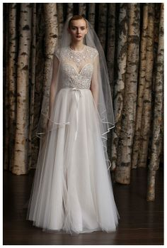 #Wedding dress by Naeem Khan from the Spring/Summer 2015 Bridal collection.