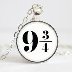 9 3/4 Necklace, Etsy $13.50