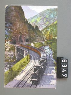 Ferrovia del S. Gottardo, Galleria spirale del Prato. Fel_006347-RE