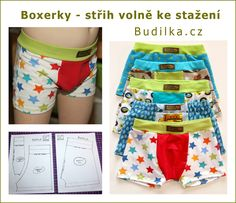 FREE: Pattern for boys boxers in size