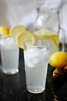 Vanilla lemonade... how good would this be with some rum?
