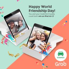 GrabHitch Friendship Day Singapore Contest ends 7 Aug 2016 | Why Not Deals