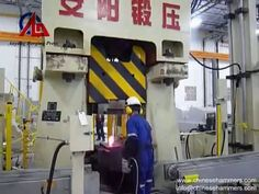 Forging Line - The Forging Process of CNC Hydraulic Die Forging Hammer