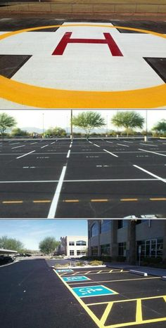 Get Boocoo Striping, Inc. to handle your parking lot line painting work. This contractor offers professional painting services, such as painting parking lot lines, basketball courts, football fields, and more.
