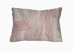 LE WITT LOOM    The Le Witt Loom pillow in Inniku Red