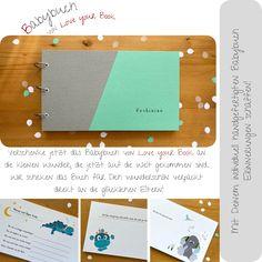 Das individuelle Babybuch von Love your Book ist das perfekte  Geschenk für ein kleines Wunder das in diesen Tagen auf die Welt kommt! Du kannst Dein Geschenk  wunderschön von mir verpackt und mit Deinen Glückwünschen  auf einer Postkarte auch direkt an die glücklichen Eltern schicken - schreibe dazu nur den Text für die Karte und die Adresse bei der Bestellung in das Individualisierungsfeld! #baby #geschenk #bucher #handmade #wirbleibenzuhause Love You, Purchase Order, Parents, Postcards, Packaging, Handmade, World, Je T'aime, I Love You