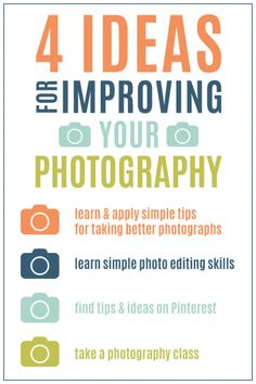 Photography for Scrapbookers | 4 Ideas For Improving Your Photography