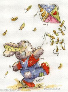 DMC-Somebunny-To-Love-Cross-Stitch-Kit-Kite-Flying