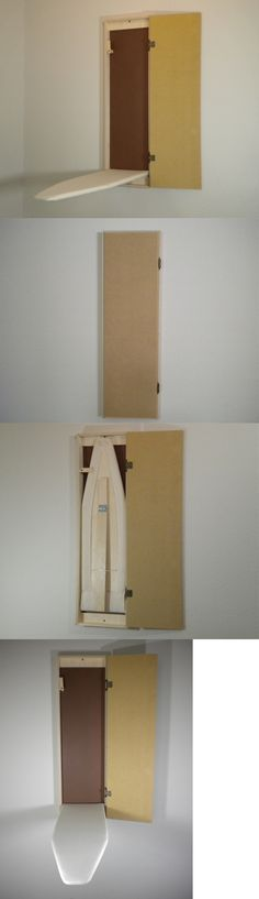 Ironing Boards 43512: Wall Mount Recessed Raw Wood Built-In Ironing Board -> BUY IT NOW ONLY: $129.99 on eBay!