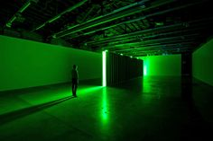 Bruce Nauman. The multimedia artist is redefining a signature video piece from 1968 in his…