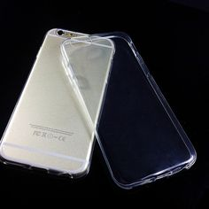 $0.7 #iphone#New ultra-thin TPU for apple iphone 6 6 7 s thinnest transparent back cover cases fundas head phone