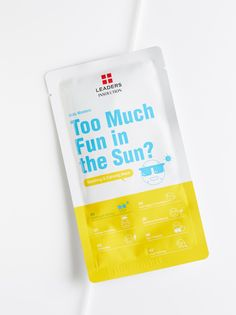 Daily Wonders Too Much Fun In The Sun? Mask | Calm redness and soothe irritated skin with this easy-to-use, ultra-hydrating sheet mask. Crafted from aloe and olive oil extracts, this spa-grade formula leaves skin looking radiant while feeling fresh and relaxed.