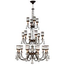 View the Fine Art Lamps 584840ST Eaton Place Twenty-Light Three-Tier Chandelier with Channel-Set Crystal Diffusers and Crystal Accents at Build.com.