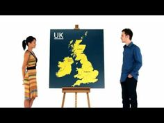 How to understand the difference between the UK and Great Britain. Fun and only 1 minute! I never knew!