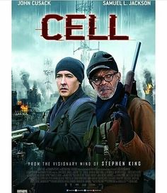 #MovieAlert: Cell is now showing at Genesis Deluxe Cinemas nationwide.  You need to see this....  #cell #cellthemovie #samuelljackson #johncusack #movies #blockbuster #boxoffice #nigeria #uk #hollywood #lagos #newyork #cinemas