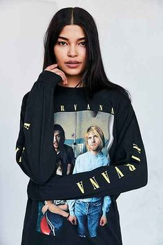 T-shirt à manches longues Nirvana 54$