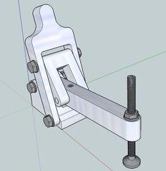 """""""BricAuBoisAuFer"""" pour les 'Makers' du bricolage. :: Fabrication sauterelles."""
