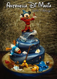 Just for fun…a kind of different Disney Themed cake