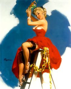 Pin Up Girl Christmas