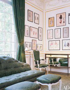 look inside yves saint laurents former couture house in paris - Fantastisch Luxus Raumausstattung Shop