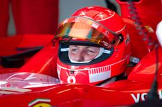 Michael Schumacher: awake and responsive