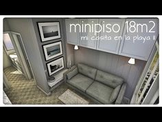 minipiso 21m2 (mi casita en la playa) - YouTube