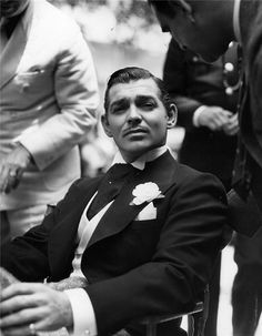 Clark Gable.... Frankly, my Dear, I DO give a damn.  He gave our Scarlet a run for her money.  Silly, silly girl.