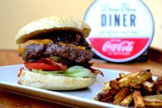 Hamburger v americkém stylu