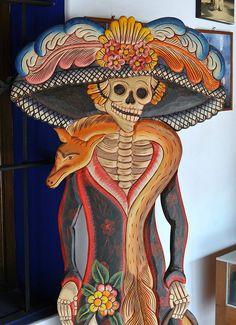 La Catrina Oaxaca Mexico