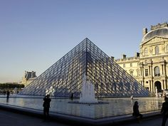 The Glass Pyramid Of The Musee Du Louvre In Paris France Photograph