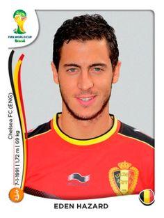 Bélgica - Eden Hazard