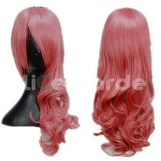 SureWells Nice wigs Final Fantasy,TouhouProject Mix Pink Long Curly Cosplay Costume Wigs by SureWells. $22.99. Save 62% Off!