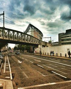 Pearse Street. Ponte della Dart #dublino #irlanda