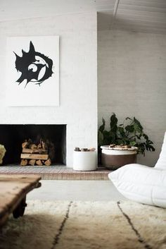 Shop domino for the top brands in home decor and be inspired by celebrity homes and famous interior designers. domino is your guide to living with style. White Interior Design, Interior Design Inspiration, Design Ideas, Interior Styling, Home Living, Living Room Decor, Living Spaces, Living Area, Dining Room