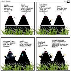 -Cinta Sejati- .  Rasulullah shallallahu alaihi wa sallam bersabda: . . Biasanya seorang wanita itu dinikahi karena empat alasan: karena harta kekayaannya kedudukannya kecantikannya dan karena agamanya. Hendaknya engkau menikahi wanita yang taat beragama niscaya engkau akan bahagia dan beruntung. (Muttafaqun alaih) . Dan pada hadits lain beliau bersabda: . . . . Bila ada seorang yang agama dan akhlaqnya telah engkau sukai datang kepadamu melamar maka terimalah lamarannya. Bila tidak niscaya…