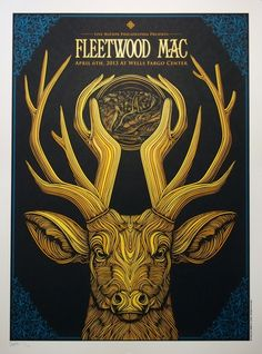 Fleetwood Mac Poster by Todd Slater