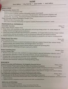 tufts career center cover letter or resume tips and examples part 3