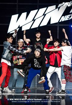 WIN : WHO IS NEXT ♡ Team B - Koo Jun Hoe (구준회), Song Yun Hyeong (송윤형), Kim Jin Hwan (김진환), B.I (김한빈), Kim Dong Hyuk (김동혁), Bobby (김지원)