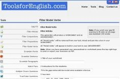 A superb site for creating a range of English game and activity sheets to use in your class, including word and paragraph scrambles, matching pairs and much more.