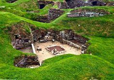 Skara Brae, Scotland UNESCO World Heritage Site