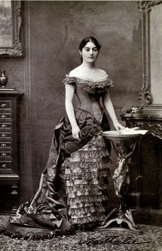 H.M. Queen Natalia Obrenovic of Serbia, née Kesco (1859-1941)