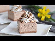 Το κέικ είναι έτοιμο σε 20 λεπτά. Λιώνει στο στόμα σας. - YouTube Nutella, Party Desserts, Dessert Recipes, Melt In Your Mouth, Pudding Cake, Cake Cookies, No Bake Cake, Raspberry, Sweet Treats