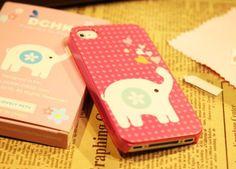 Cute elephant iPhone case