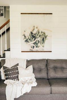 Peonies Vintage Inspired Tapestry - Aimee Weaver Designs #tapestry
