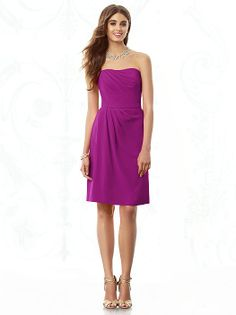 After Six Bridesmaids Style 6685 http://www.dessy.com/dresses/bridesmaid/6685/?color=black&colorid=123#.UrS6PfRDuoM