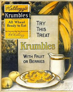 kelloggs krumbles 1917 by Captain Geoffrey Spaulding, via Flickr