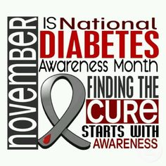 The silent disease. We all need to educate ourselves more. Do you know the difference between Type 1 and Type 2?