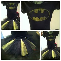 @Melanie Bauer VanRy  Make this!!!  A perfectly simple costume and Shawn can be another super hero!! :) Adult Batman Tutu Costume for Halloween.