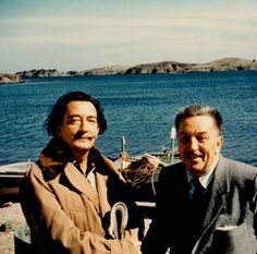 Salvador Dali and Walt Disney, 1957
