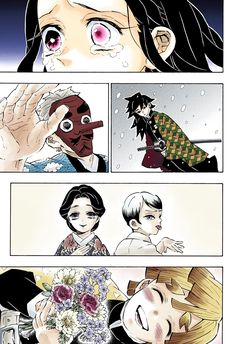Kimetsu no Yaiba – Digital Colored Comics Chapter 196 Animes Yandere, Fanarts Anime, Blue Exorcist, Manga Art, Anime Art, Inu Yasha, Kurama Naruto, Hxh Characters, Dragon Slayer